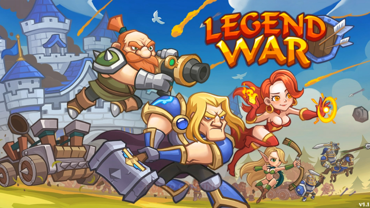 Legend War Gameplay IOS / Android