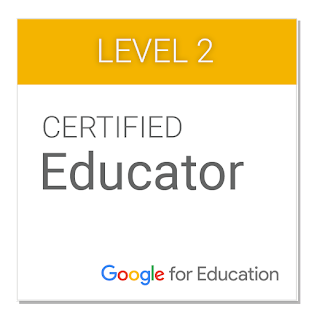 Google Certified Educator Levels 1 &2