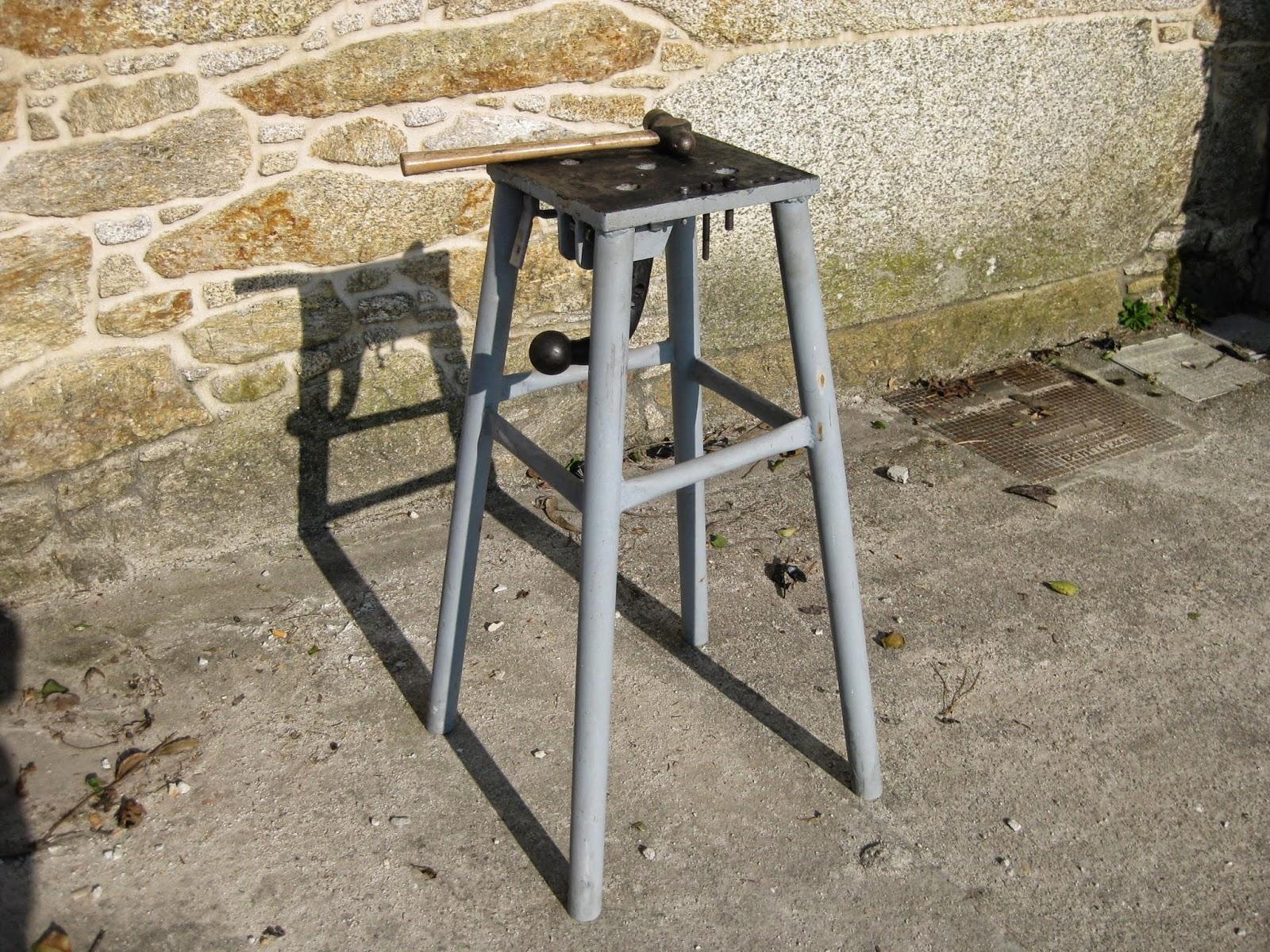 Bricolaje oficios y otras cosas mesa para trabajar el hierro - Como hacer bricolaje ...
