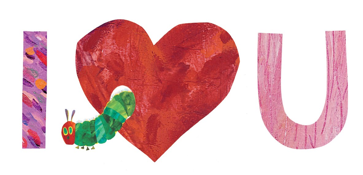 Eric Carle Blog Happy Valentines Day – Print Your Own Valentines Card