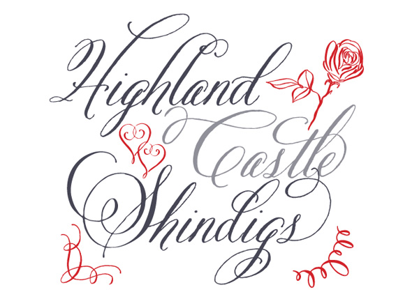 Calligraphy Alphabet Wedding Calligraphy Fonts