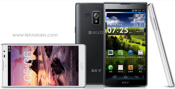 harga hp Pantech Vega S5, pesaing galaxy S III, saingannya apple iphone 5, hp android spesifikasi tangguh