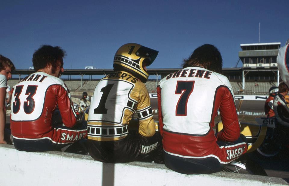 Photo Race d'époque  Smart,+Roberts,+Sheene+1974