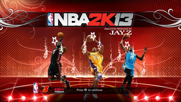 NBA 2K13 Pack Title Screens