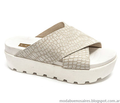 Moda primavera verano 2015 Traza calzados.