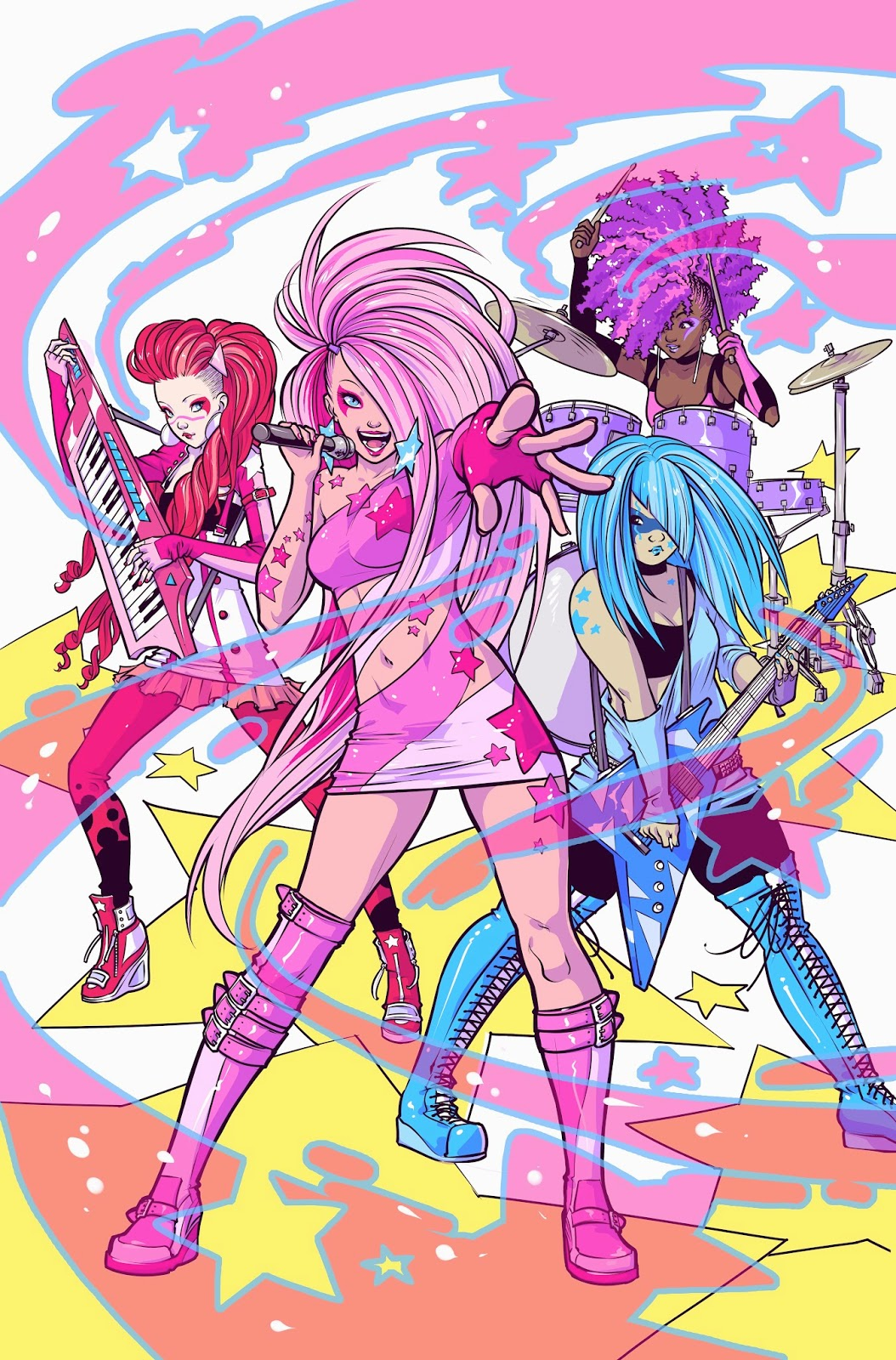 Jem and the Holograms - Receiving a totally outrageous reboot in comic form