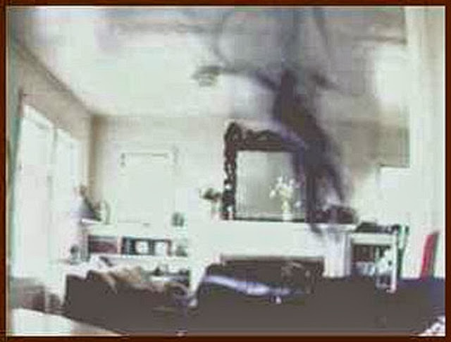 Shadowman Or Ghost Attack Caught On CCTV