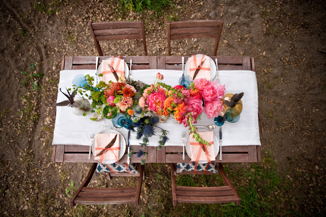 Bohemian table style