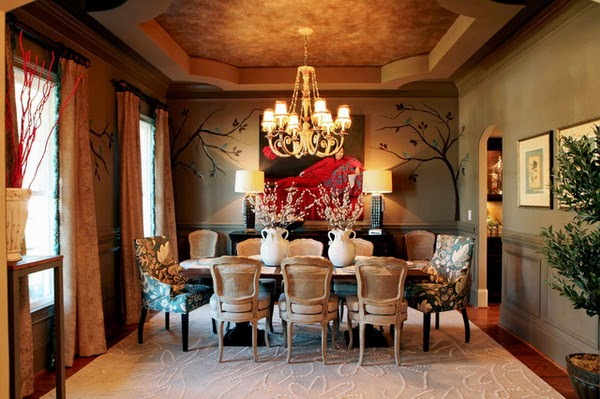 Decorating Your Dining Room Design with Dining Room Furniture | MODERN INTERIOR