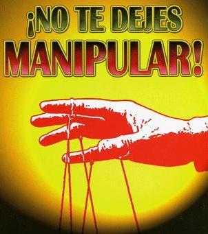 No te dejes manipular. Piensa por ti mism@