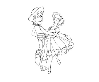 #16 Toy Story Coloring Page