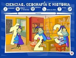 Ciencias, geografía e historia