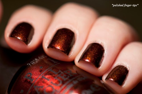 OPI Germanicure and Girly Bits Shift Happens - artificial light