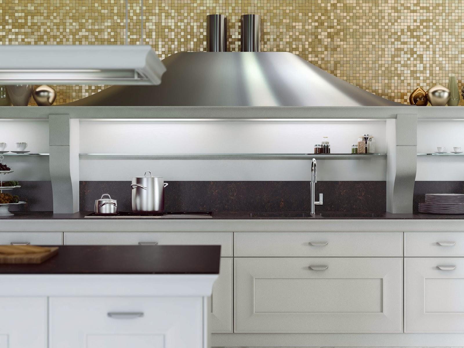 Hometrotter home style blog casa arredamento design - Cappe in rame per cucine ...