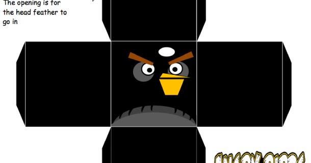 Blog Mengenai Paper Toy: Papercraft angry bird