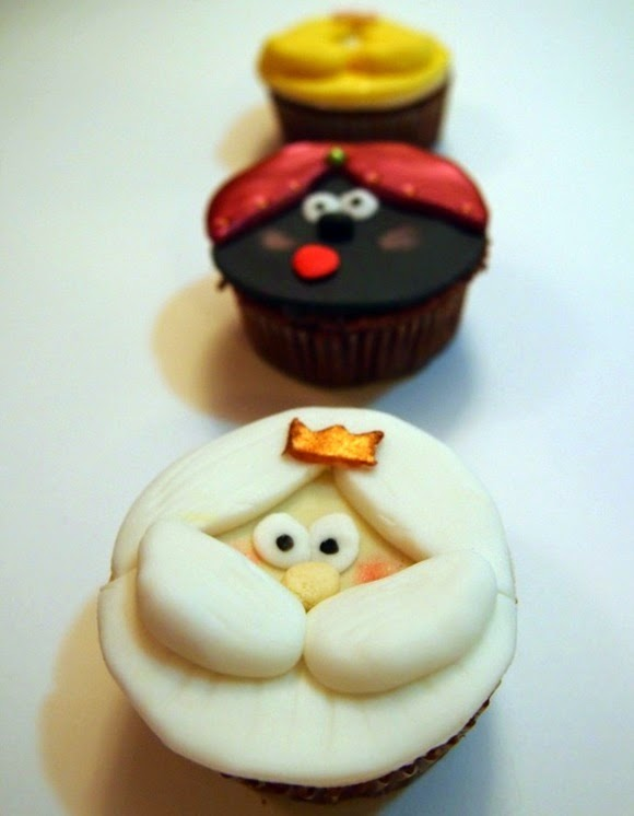 Cupcakes De Reyes Magos