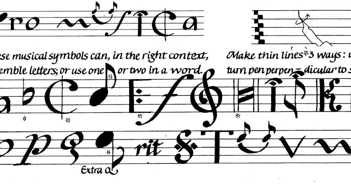 Margaret Shepherd Calligraphy Blog 120 Pro Musica