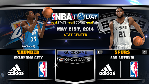 NBA 2K14 Conference Finals Roster Update