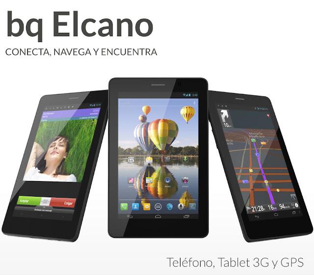 """BQ Elcano : Smartphone y Tablet juntos en 7 """""""