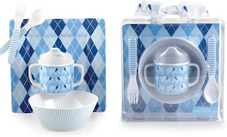 Elephant Melamine Dinnerware SEt
