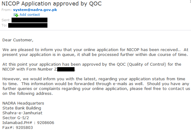 Amir's Musings: How To Apply Online For a NICOP