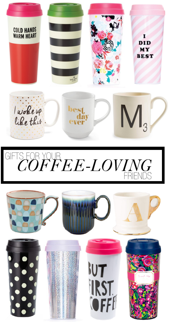 Gift Guide for your coffee or tea loving friend!