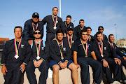 La selección Argentina Masculina medalla de Oro en los IV Juegos del ALBA .