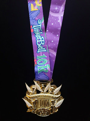 2015 Tinker Bell 10K medal