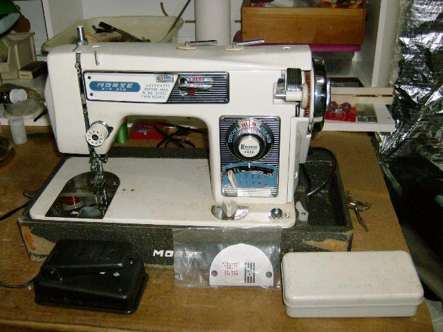 vintage morse sewing machine