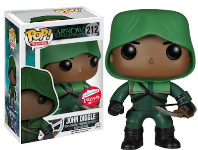 San Diego Comic-Con 2015 Exclusive Arrow John Diggle Pop! Television Vinyl Figure by Funko & Fugitive Toys