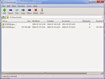 7-Zip 9.30 alpha Free Download