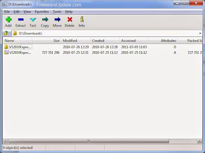 7-Zip 9.30 alpha Free Download