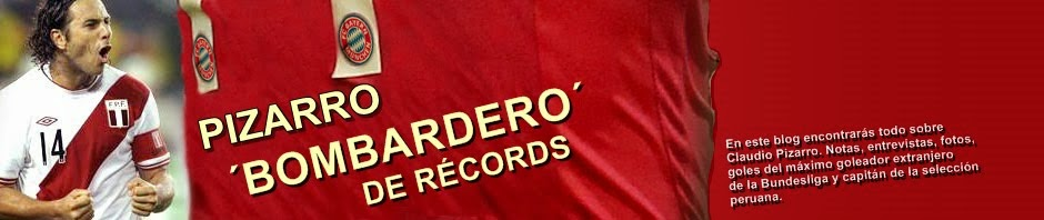 Claudio Pizarro, bombardero de récords