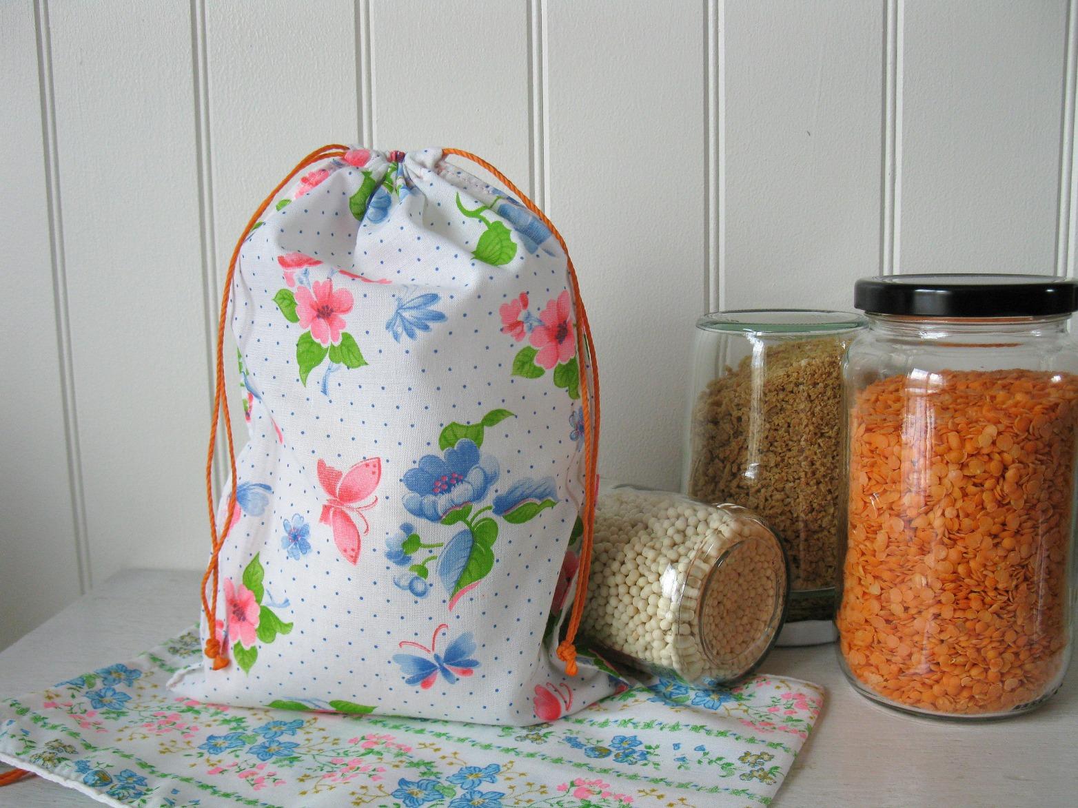 Sacs à vrac, à fruits / légumes, à pain .. disponible à la boutique en ligne