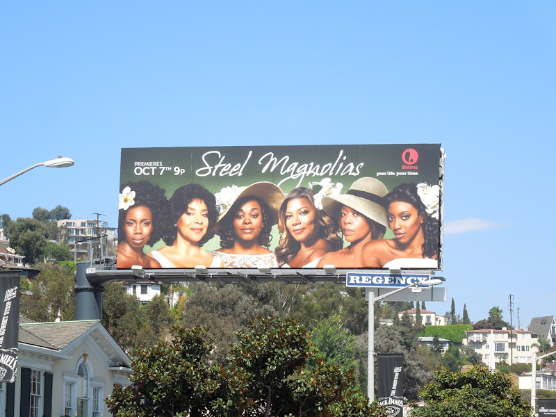 Steel Magnolias Lifetime remake billboard