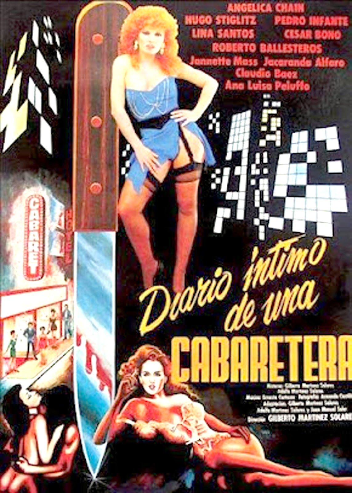 Diario intimo de una cabaretera threesome erotic scene mfm 8