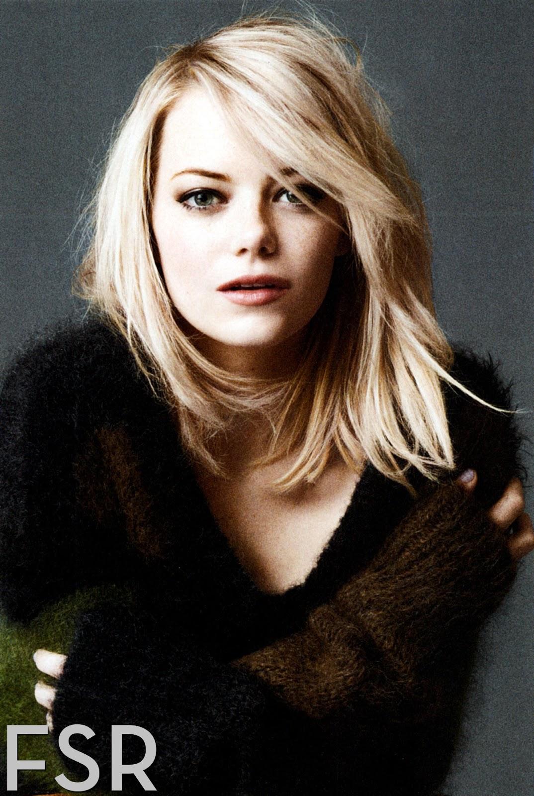 Emma Stone: Hot Emma Stone Photoshoot Emma Stone Zombieland Hair