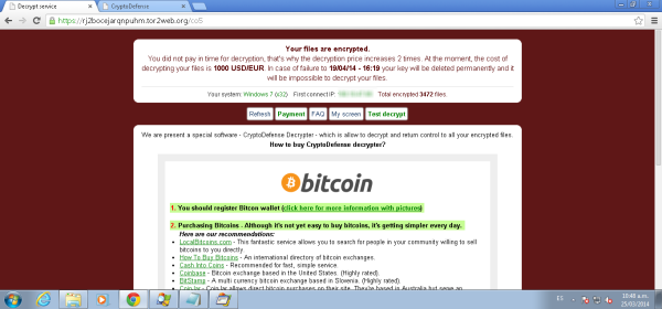 virus, códigos maliciosos, secuestro y extorsión, correos electrónicos, Ransomware, BitCoins