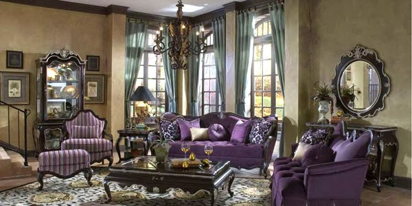 concevoir votre salon dans le style victorien d coration salon d cor de salon. Black Bedroom Furniture Sets. Home Design Ideas