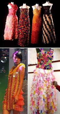 20 Weirdest Fashion Trends: The Condom Dress