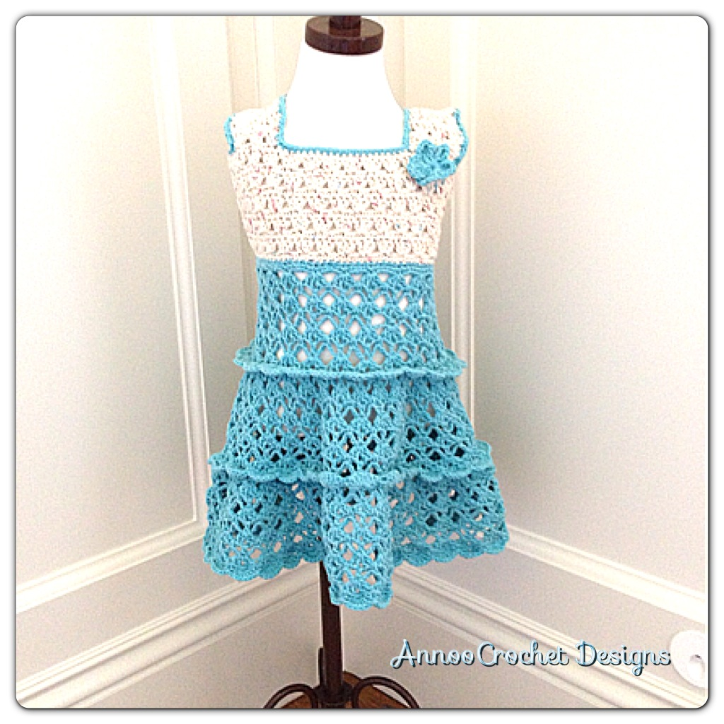 Free Crochet Pattern Summer Dress : free amp easy crochet baby dress pattern Quotes