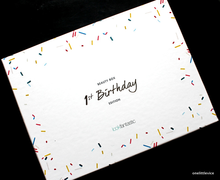 onelittlevice beauty blog: birthday beauty box review