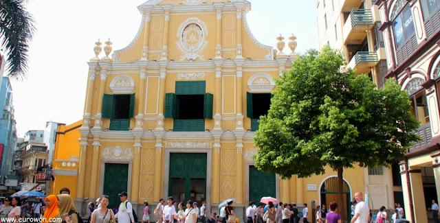 Iglesia de Santo Domingo en el centro de Macao