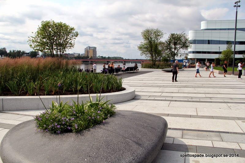 Nya Rådhusparken i Umeå