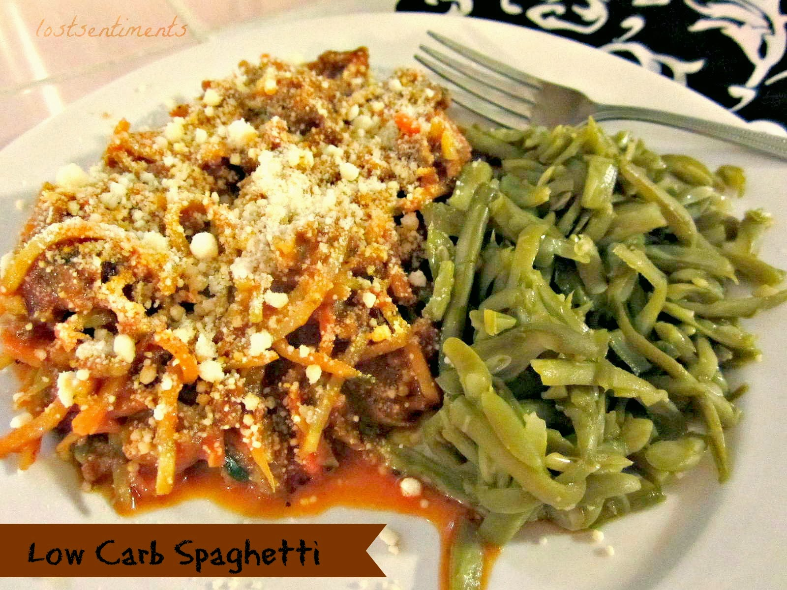 lostsentiments low carb spaghetti recipe. Black Bedroom Furniture Sets. Home Design Ideas