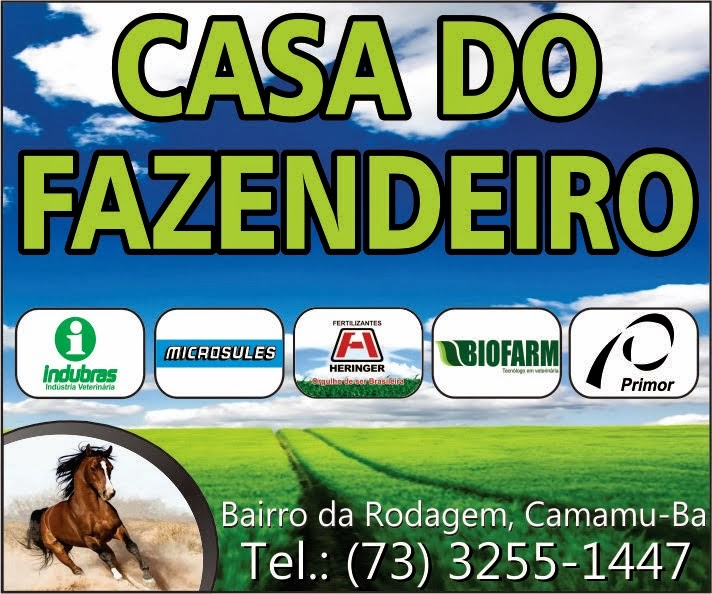 A casa do produtor rural!