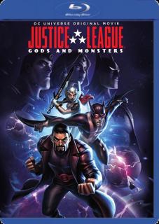 Liga De La Justicia: Dioses Y Monstruos (2015) DVDRip Latino