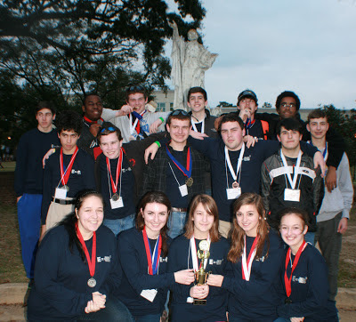 MONTGOMERY CATHOLIC SCIENCE OLYMPIAD TEAM WINS AT REGIONAL COMPETITION 1
