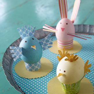 Huevos de pascua decorados vol 3 21 fotos imagenes y - Uova decorate per bambini ...
