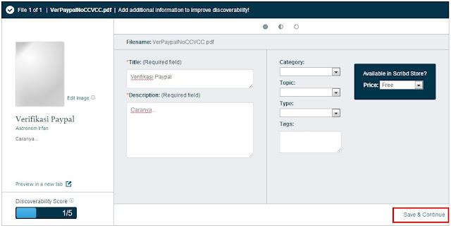 proses upload dokumen di scribd telah selesai sehingga dapat download dokumen scribd